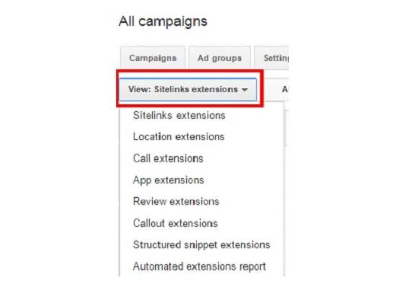 Ad extensions Adwords