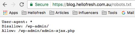 Blog Robots.txt