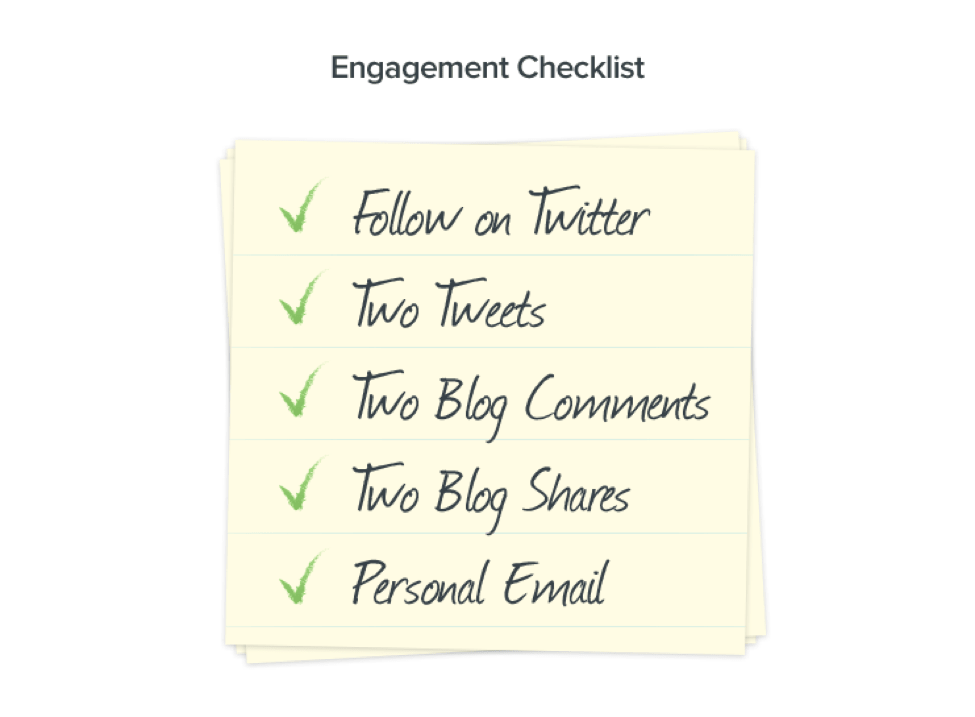 Engagement Checklist