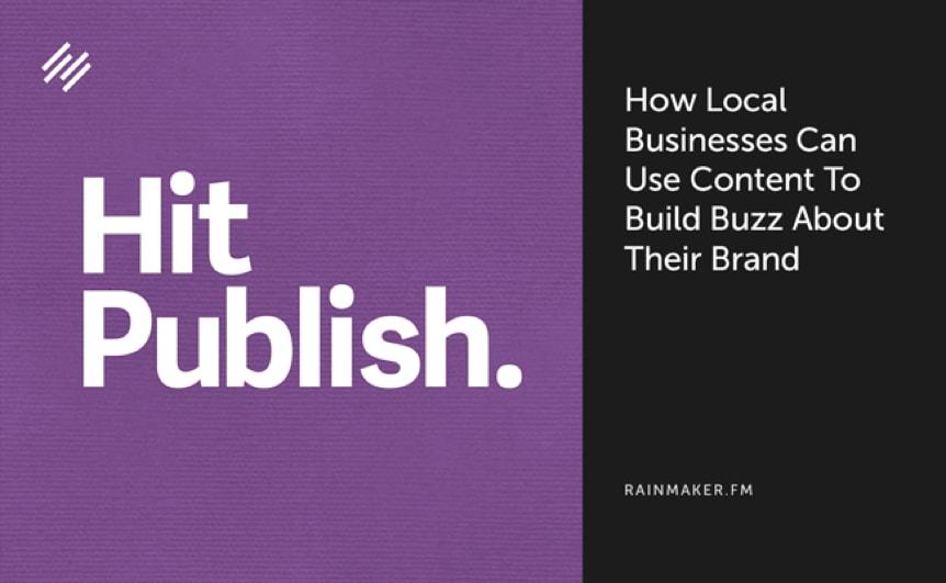 Hit publish