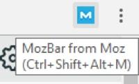 mozbar plugin