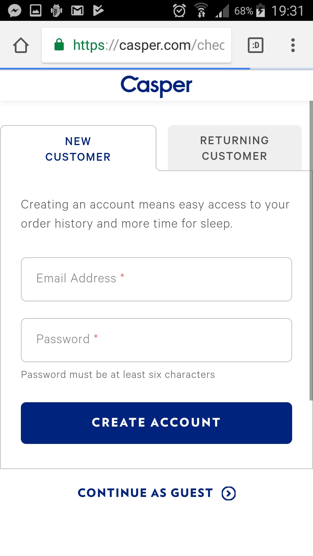 mobile checkout