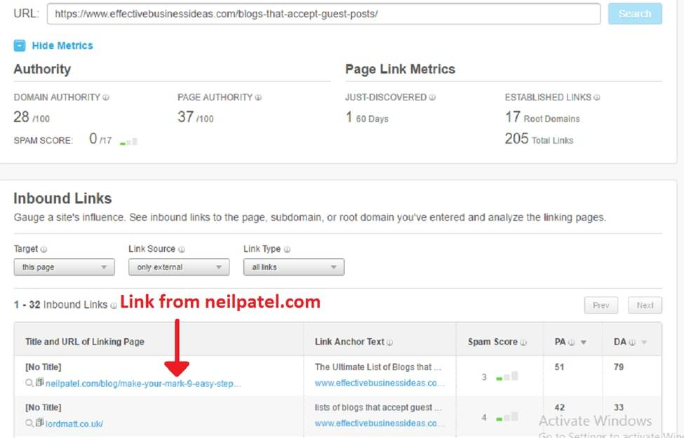 Guest Post Backlink Example