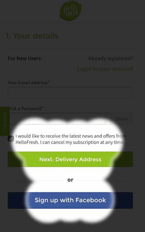Mobile Checkout Attention Map