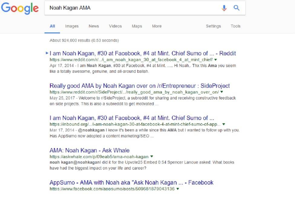 Noah Kagan AMA