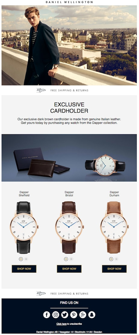 DW Email Promotion