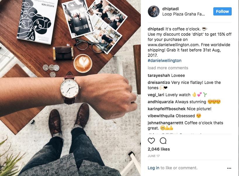 Instagram Influencer DW Watch