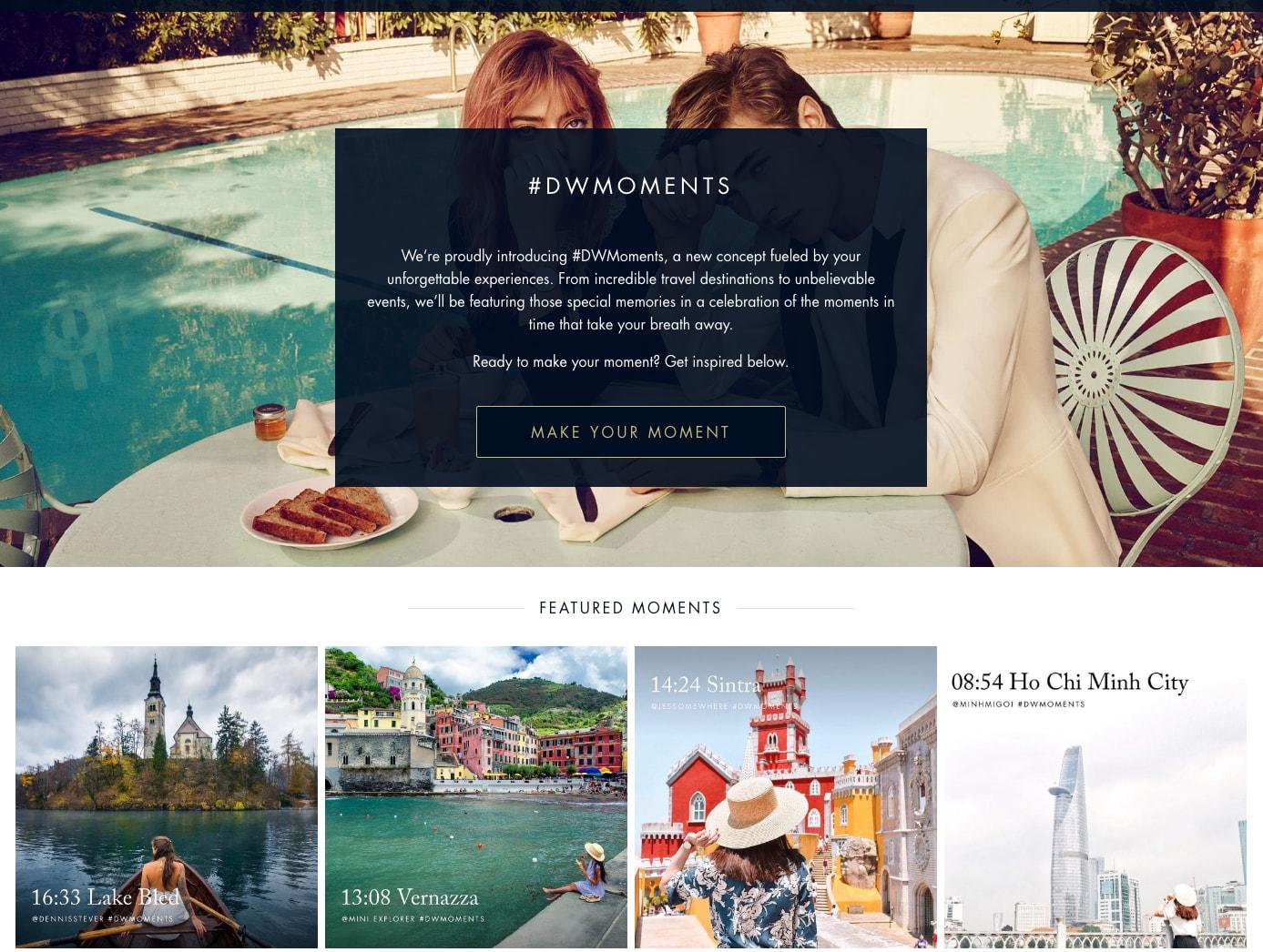 Influencer Marketing DWMoments