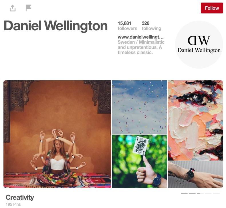 Daniel Wellington Pinterest