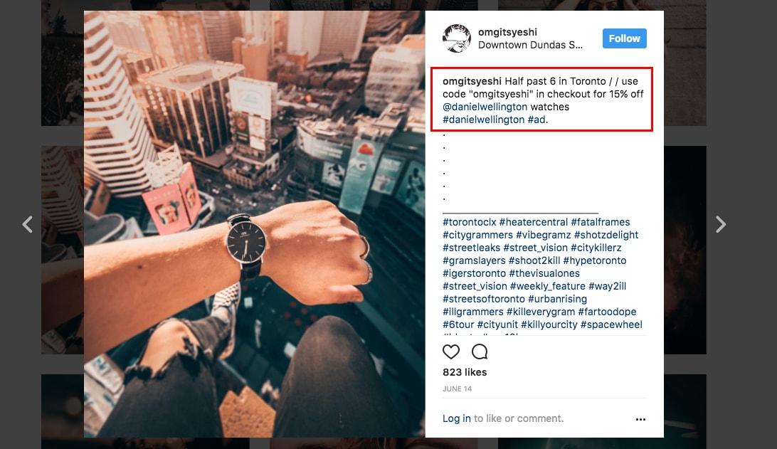 Instagram Influencer Partner