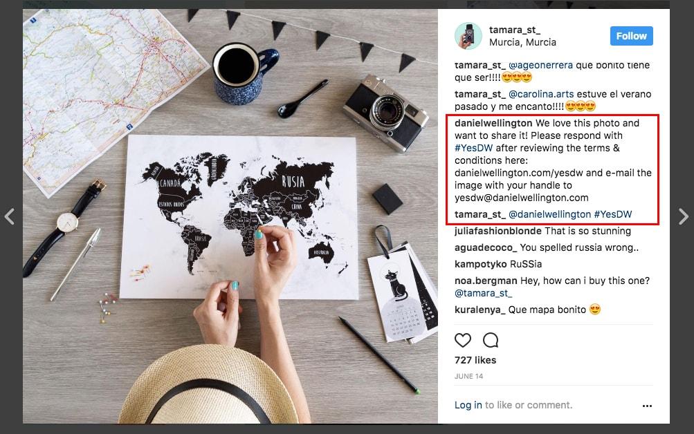 Instagram influencer outreach