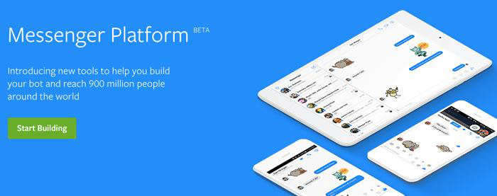 Facebook messenger platform